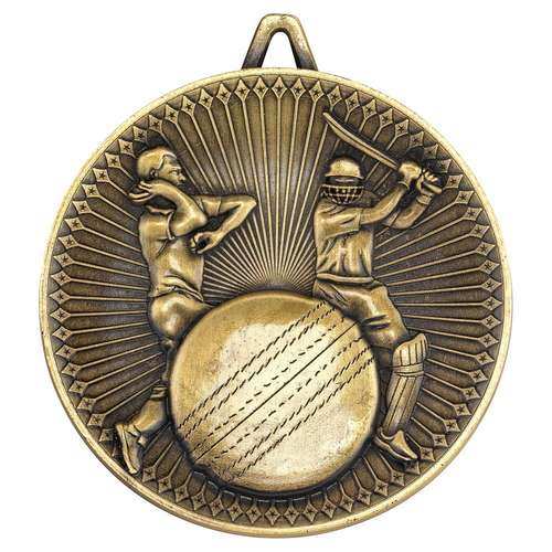 60mm cricket deluxe medal