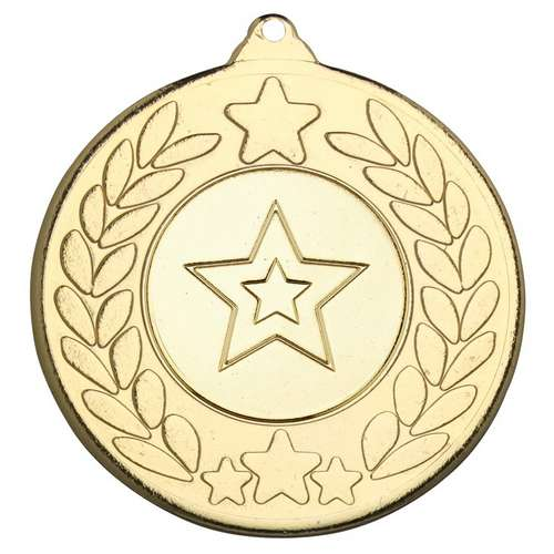50mm STARS AND WREATH MEDAL
