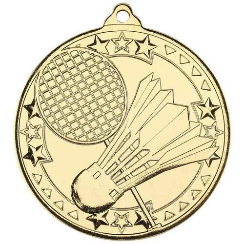 Badminton Tri Star Medal