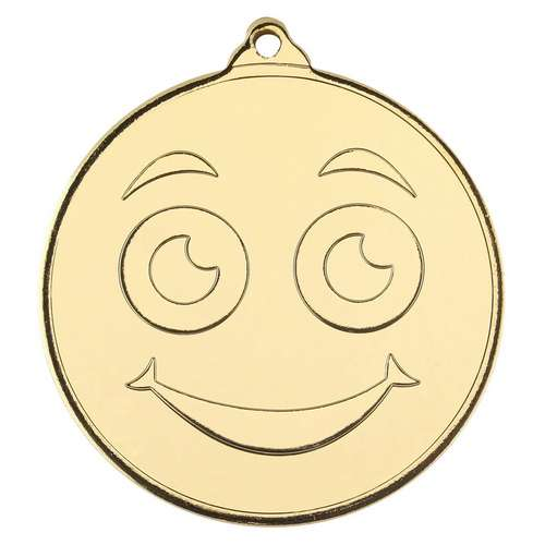 SMILEY FACE MEDALS