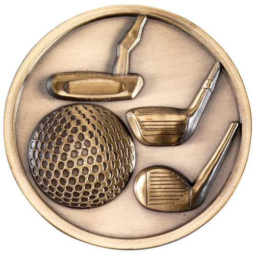 Golf clubs medallion 70mm