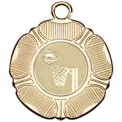 Tudor Rose Netball Medal