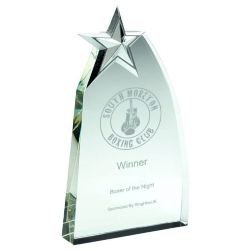BOXING GLASS AWARDS