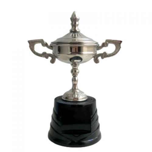 """SILVER COLOURED N/PLATED CUP 7.25"""""""