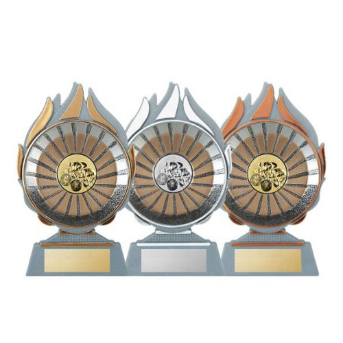 Q120 - Cycling Trophy with 50mm centre