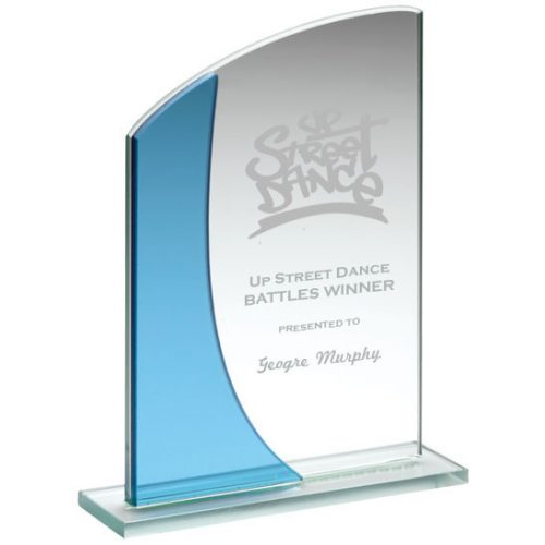 BL10 Glass Dance Trophy