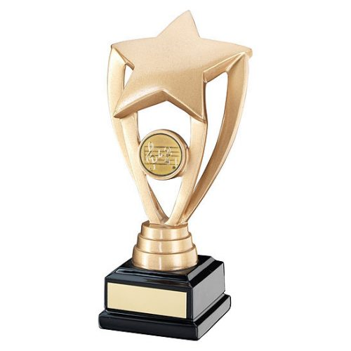 RF16 Dance/Music Gold Star Trophy