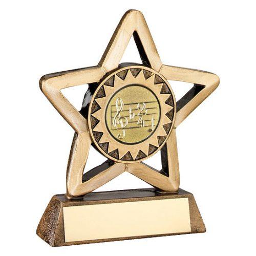 RF414 Dance/Music Mini Star Trophy