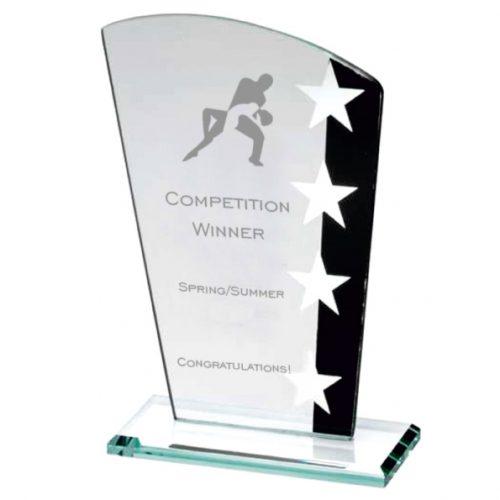 SK2 Glass Star Dance Trophy